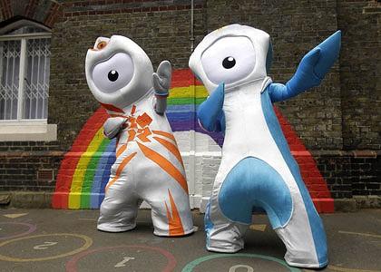 Humor 2012 Olympic Mascot Olympic Memorabilia