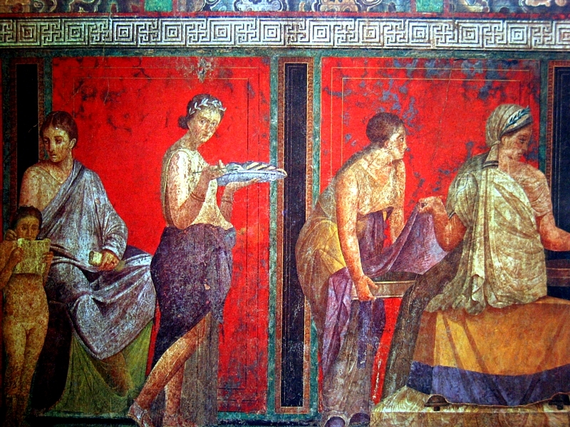 Festival ferrebeekeeper for Ancient roman mural