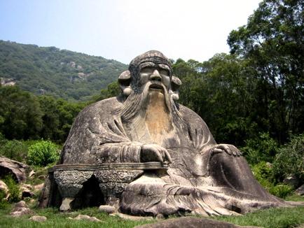the old man statue of qingyuan mountain ferrebeekeeper
