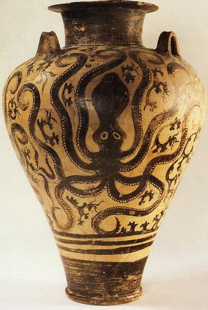 The Octopus Motif In Ancient Greek Ceramics Ferrebeekeeper