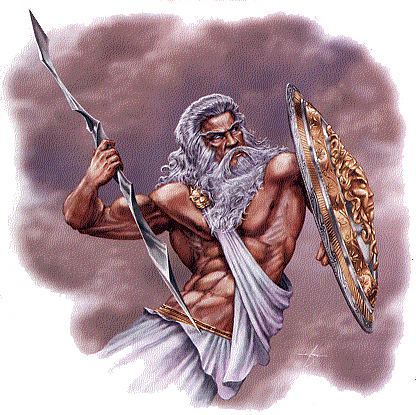 Craft Ideas Sorority on Zeus Wielding His Goatskin Aegis And A Lightning Bolt