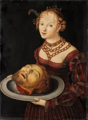 「salome cranach」の画像検索結果