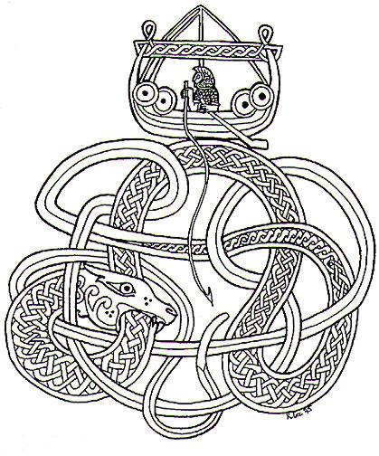 The Midgard Serpent | ferrebeekeeper