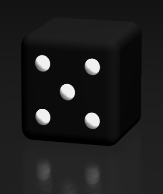 dice side 5