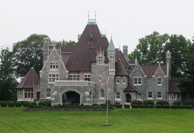 Gothic mansions ferrebeekeeper Cost of building a house in pa