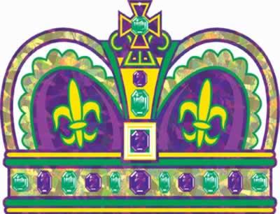 Clip Art Of King Cake : The Colors of Mardi Gras ferrebeekeeper