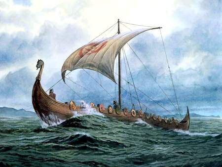 A Viking Longboat | ferrebeekeeper
