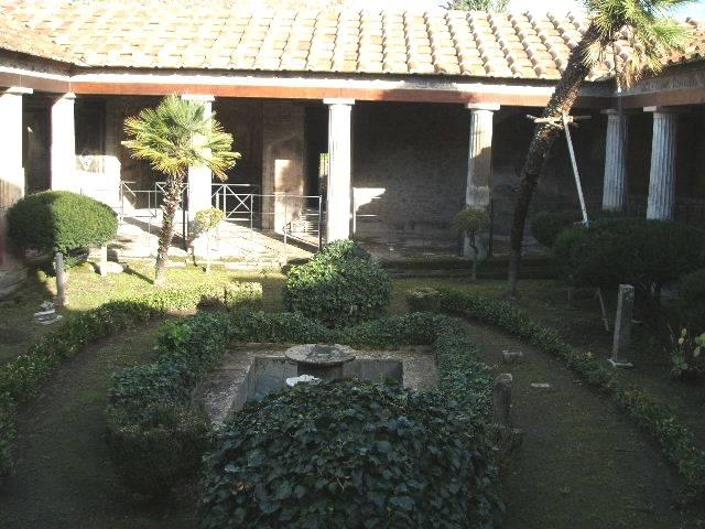The Roman Peristyle Garden Ferrebeekeeper