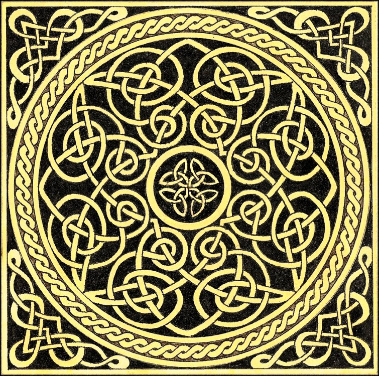 A Brief History Of Celtic Knots Ferrebeekeeper Magnificent Celtic Knot Patterns