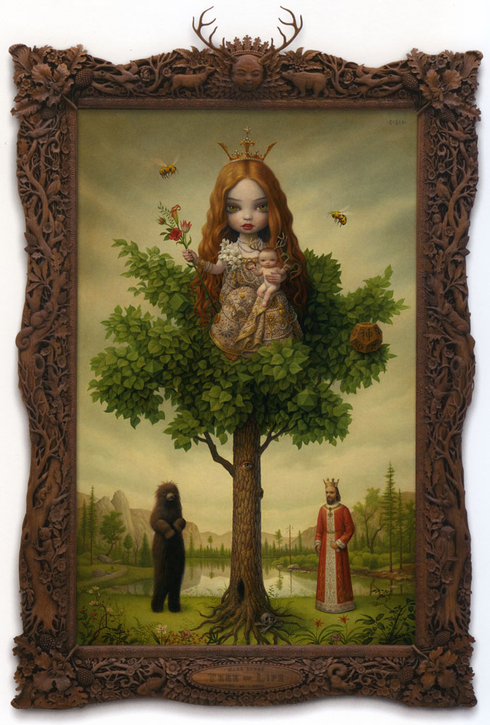The Tree Of Life By Mark Ryden Ferrebeekeeper