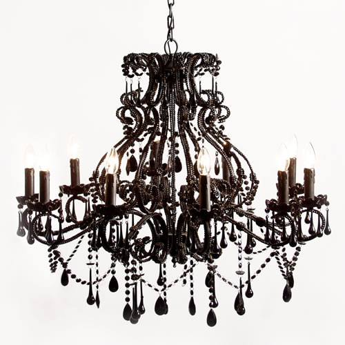 Chandelier ferrebeekeeper additionally the aesthetic spirit of gothic artifice is appropriate any time of year enjoy the dark illumination aloadofball Images