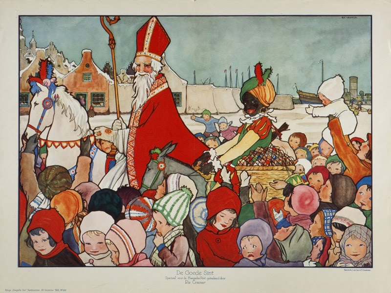 Sinterklaas & Associates (A drawing from a picture book by Rie Cramer)