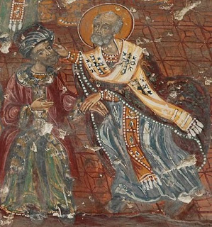 Nikolaos Striking Arius