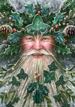 Pagan-Yule-spirit