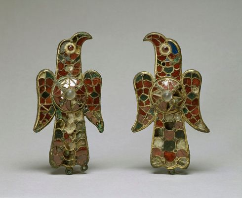Visigoth Brooches from Southwest Spain ca. 6th century AD (in the Walters Art Museum)