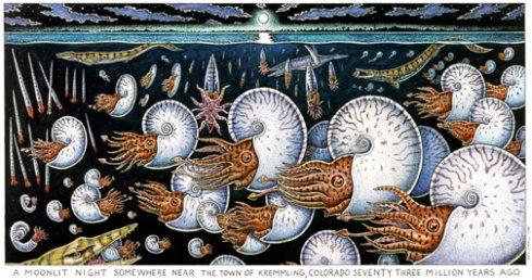 Night of the Ammonites (Ray Troll)