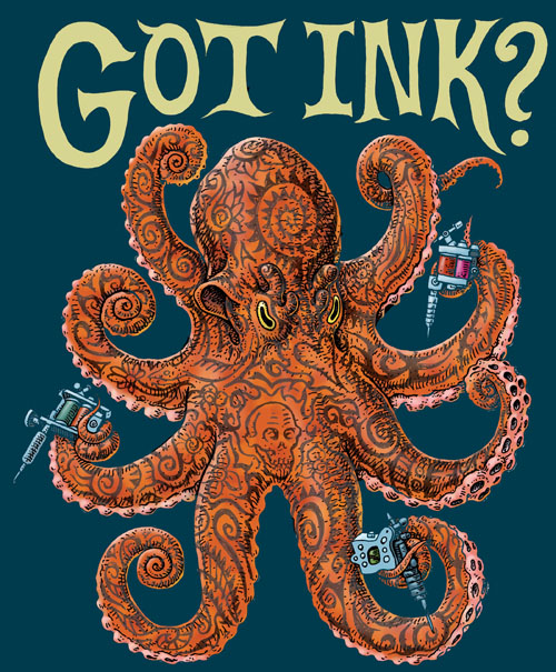 Got Ink? (Ray Troll)
