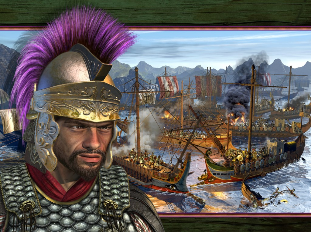 Hamilcar Crushing the Roman Navy and...wearing a Cordovan Color undertunic