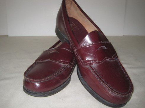 Cordovan Penny-loafers
