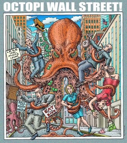 Octopi Wall Street (Ray Troll)