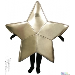 Anonymous foam star mascot
