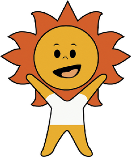 South Africa Soccer Sun Mascot