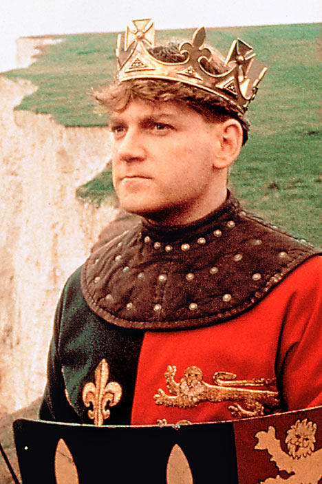 "Kenneth Branagh as ""Henry V"" 1989"