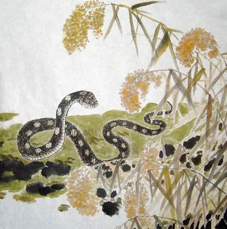 chinese art snake - photo #4