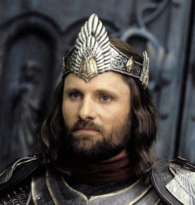 "Viggo Mortensen in ""Return of the King"" 2003"