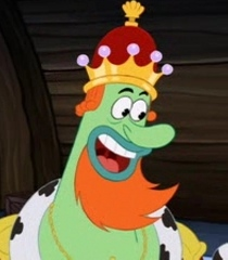 "King Neptune from ""Sponge Bob"" (TV & 2004 movie)"