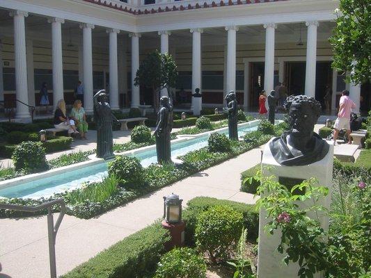 Getty Sculpture Garden
