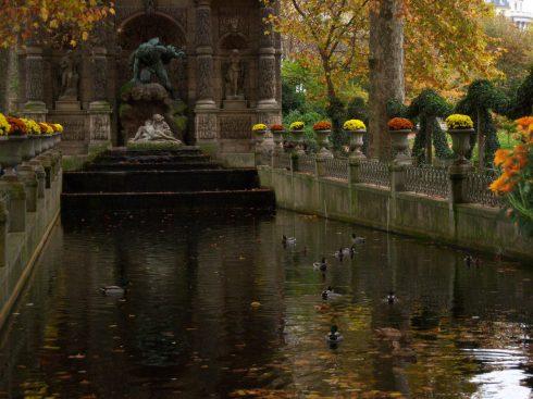 La fontaine Médicis (Jardin du Luxembourg, Paris, France)