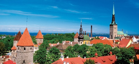 Tallinn, the capital of Estonia