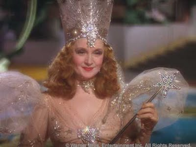 "Billie Burke in ""The Wizard of Oz"" (1939)"