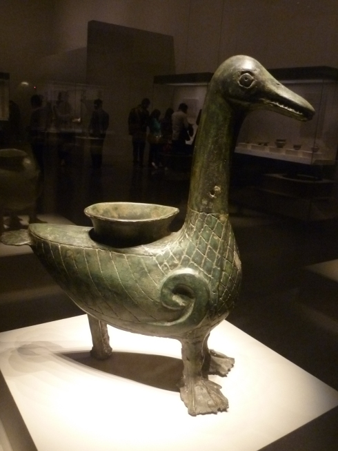 Bronze Goose Zun (Western Zhou Dynasty, Photo by sftrajan)