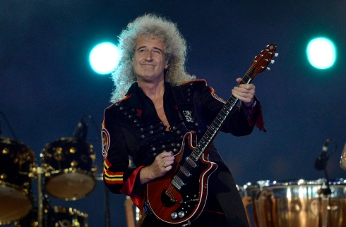 Dr. Brian May, astrophysicist, CBE