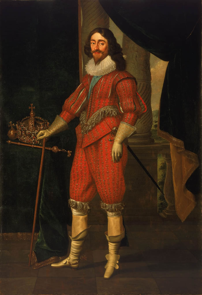 Charles I of the United Kingdom (Charles Mytens, 1631)