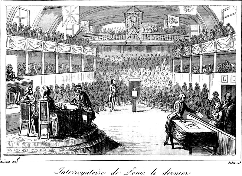 Louis XVI Interrogated by The National Convention