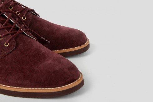 "French puce suede oxfords (from ""Pointer"" if you must have them)"