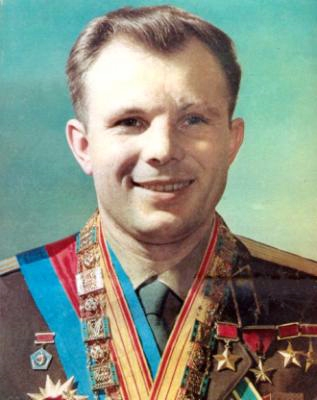 Yuri Gagarin--the first human to go to space