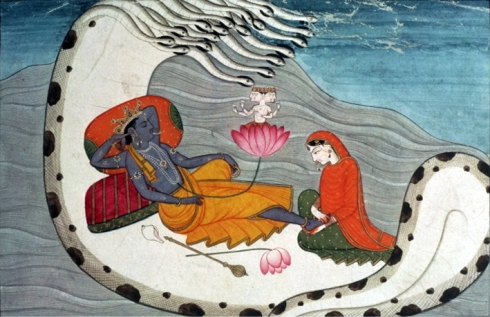 Vishnu_and_Lakshmi_on_Shesha_Naga,_ca_1870