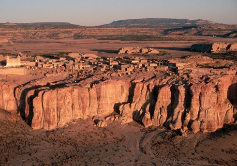 Acoma Pueblo, the most famous Keresan pueblo and the oldest inhabited town in the USA