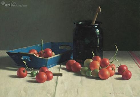 Stilleven met tomaten (Henk Helmantel)