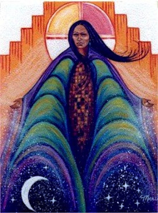 """Corn Dawn Mother"" by Marti Fenton"