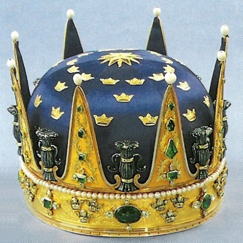 The crown of Prince Frederick Adolf 1771