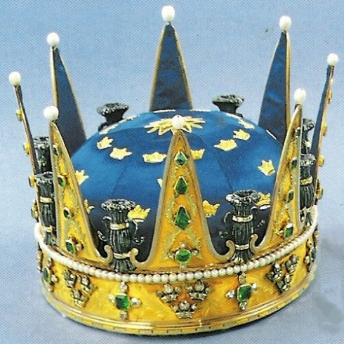 The crown of Prince Carl 1771