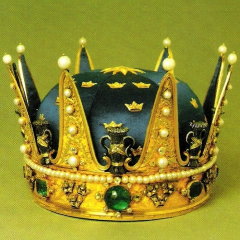 The crown of Prince Oskar 1844