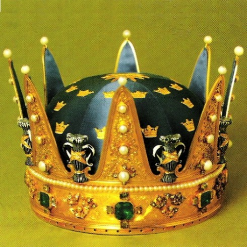 The crown of Prince Wilhelm 1902