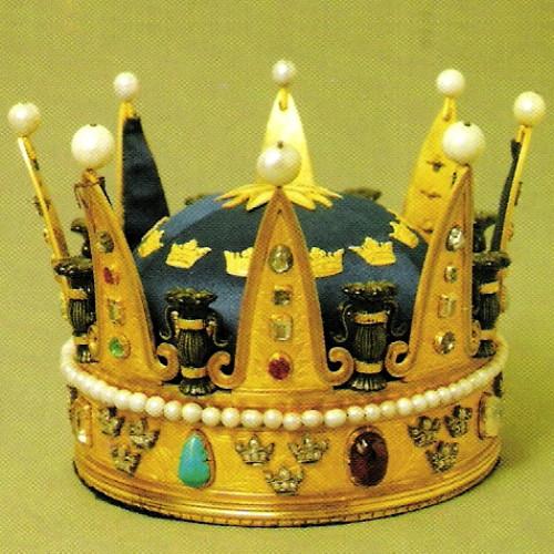 The crown of Princess Eugenia 1860