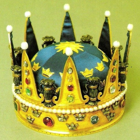 The crown of Princess Hedvig Elisabet Charlotta 1778